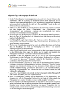 Allgemeine Tipps & Anregungen für die Praxis